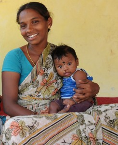 Cleft patient and mother